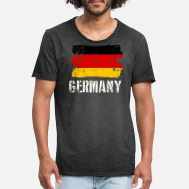 World Championship World Championship Germany T Shirt - T-shirt vintage Homme