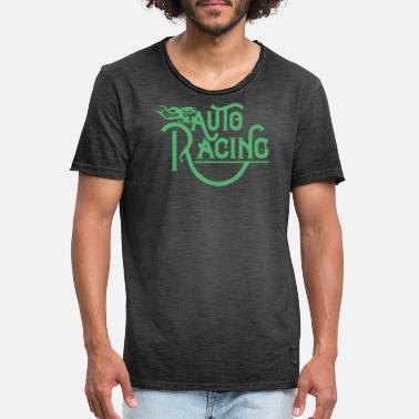 Race Car Car Racing Car Racing Car Racing Car Racing - Men's Vintage T-Shirt