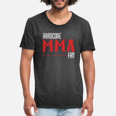 Cage Fighter Cool MMA Fan Cage Fighters gift - Men's Vintage T-Shirt