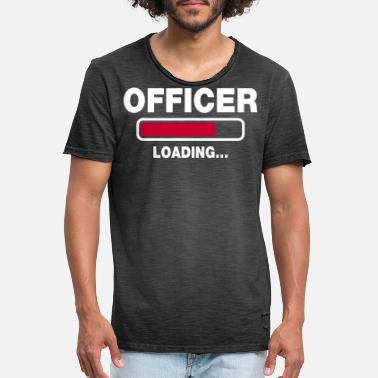 Officier Officier - Mannen vintage T-shirt