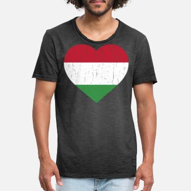 Hungary HUNGARY - Men's Vintage T-Shirt