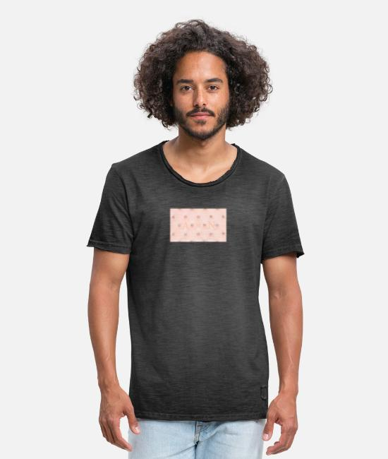 Alphabet T-Shirts - My initials - Men's Vintage T-Shirt washed black
