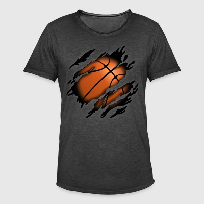 Basketball in me - Men's Vintage T-Shirt