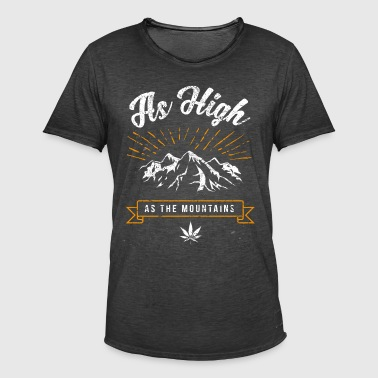 High - funny drug stinker shirt - Men's Vintage T-Shirt