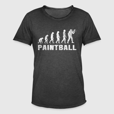 Evolution Paintball Shirt - T-shirt Paintball - T-shirt vintage Homme