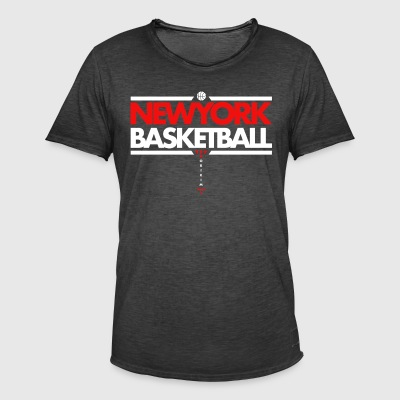 Horikima NY Basketball T-shirt - Herre vintage T-shirt