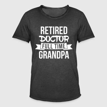 Full time Grandpa - Men's Vintage T-Shirt