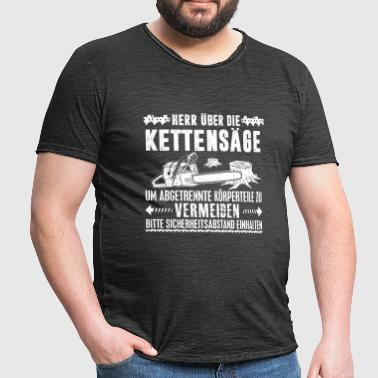 LORD OF THE KETTINGZAAG - Mannen Vintage T-shirt