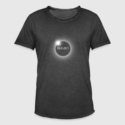 Total Solar Eclipse-USA-08.21.2017 - Men's Vintage T-Shirt