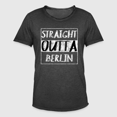 Straight Outta Berlin T-shirt - T-shirt vintage Homme