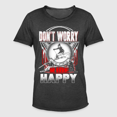 Ski happy - Men's Vintage T-Shirt