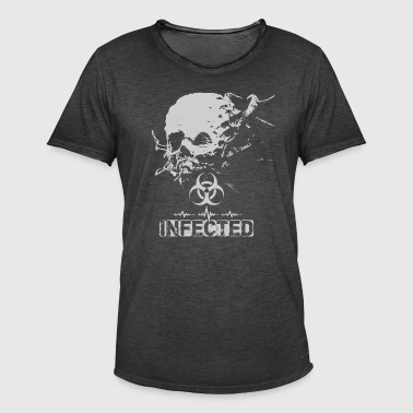 Infected - Männer Vintage T-Shirt