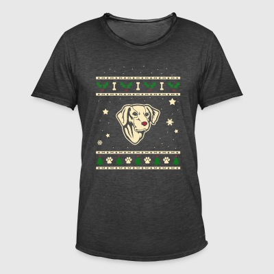 Old Croatian Sighthound Kerstmis Cadeau - Mannen Vintage T-shirt
