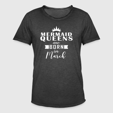 Mermaid Queens March - Men's Vintage T-Shirt