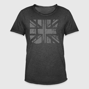 UK Flagge - Männer Vintage T-Shirt