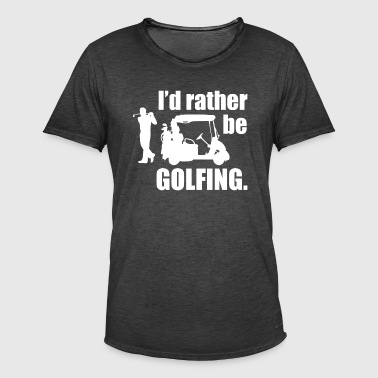 GOLF - T-shirt vintage Homme
