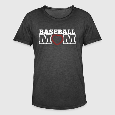Baseball Mom - Herre vintage T-shirt