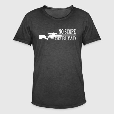 Blyad Gaming - No Scope - Männer Vintage T-Shirt