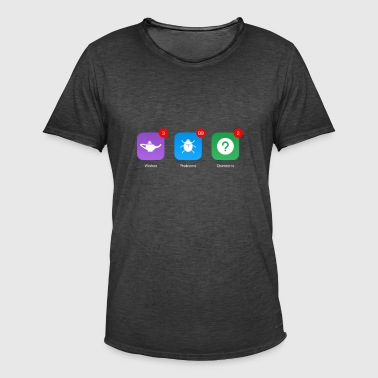 Notifications - Männer Vintage T-Shirt
