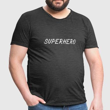SUPERHERO - Men's Vintage T-Shirt