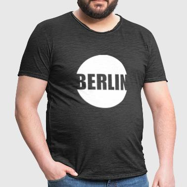 Berlin City - T-shirt vintage Homme