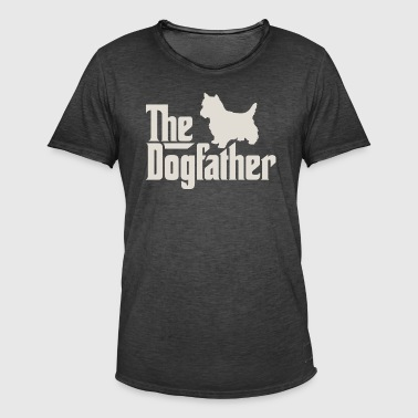 Den Dogfather - West Highland White Terrier - Herre vintage T-shirt