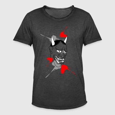 Hannya mask - Men's Vintage T-Shirt
