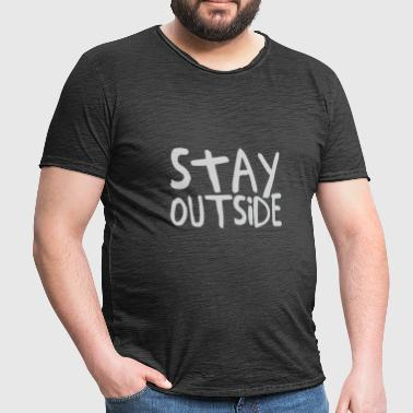 Stay Outside - Men's Vintage T-Shirt
