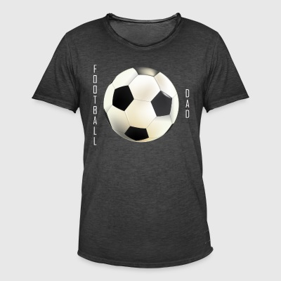 Football Pappa Collection - Vintage-T-skjorte for menn