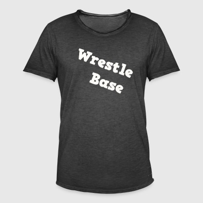 WrestleBase Merch - Männer Vintage T-Shirt