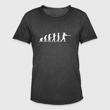 Baseball Evolution - Men's Vintage T-Shirt