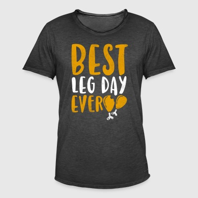 Meilleur Day Ever Leg - T-shirt vintage Homme