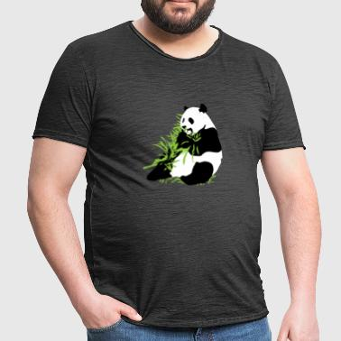 Panda Zoo - Men's Vintage T-Shirt