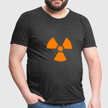 Muestra nuclear - Camiseta vintage hombre