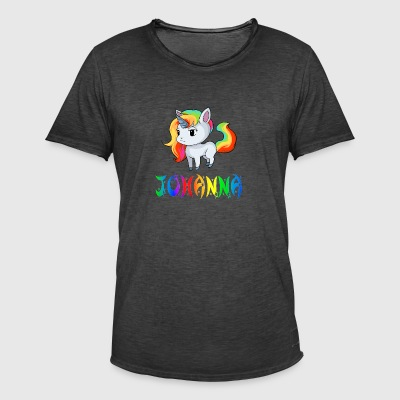 Johanna unicorn - Men's Vintage T-Shirt