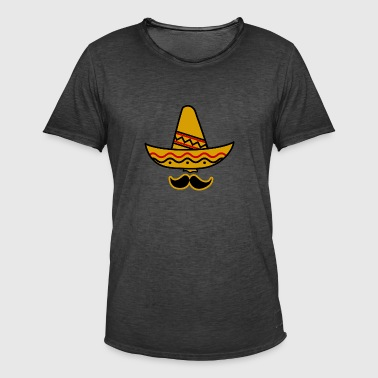 Sombrero mexicain - T-shirt vintage Homme