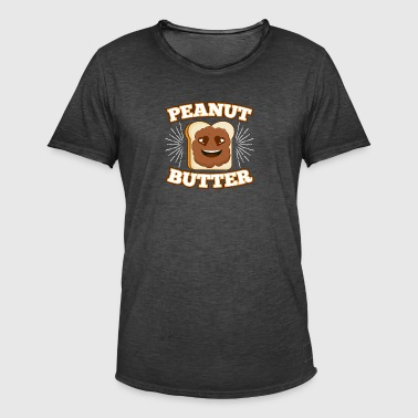 Peanut Butter - Men's Vintage T-Shirt