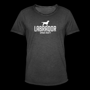 LABRADOR whatelse - Mannen Vintage T-shirt