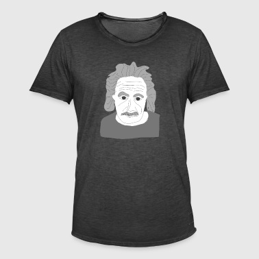Albert Einstein - Men's Vintage T-Shirt