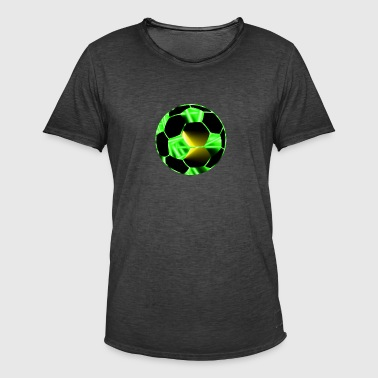 planet Football - Vintage-T-shirt herr