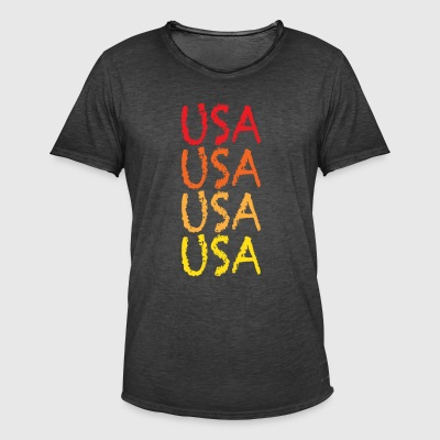 USA - Men's Vintage T-Shirt