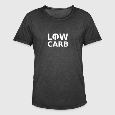 low carb - Men's Vintage T-Shirt