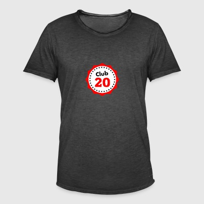 Club 20, birthday - Men's Vintage T-Shirt