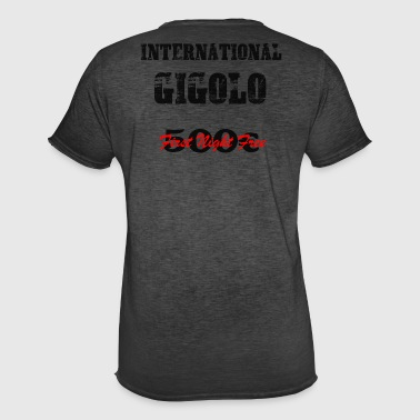 Herren T-Shirt INTERNATIONAL Gigolo by doodo - Männer Vintage T-Shirt