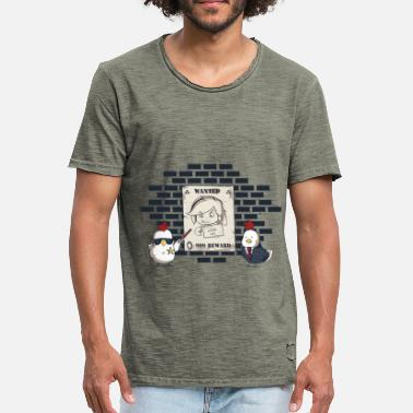 Ironie Geek The Legend Of Chicks - T-shirt vintage Homme