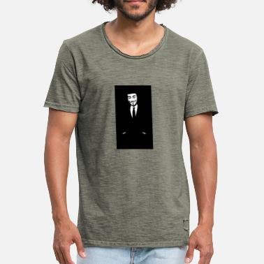 Wallpaper wallpaper wiki HD Anonymous Wallpaper for Iphone P - Men's Vintage T-Shirt