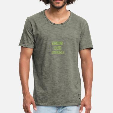 Cotton 100 organic - Men's Vintage T-Shirt