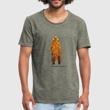 Spectacled Bear Spectacled - Men's Vintage T-Shirt