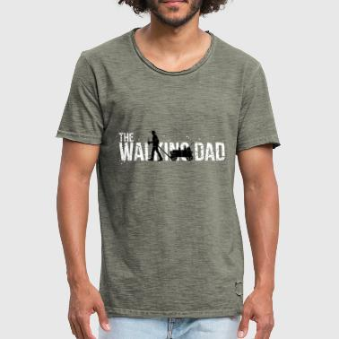 The Walking Dad - FathersDay Edition Vintage Look - Männer Vintage T-Shirt