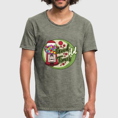 Nostalgia gumball machine - Men's Vintage T-Shirt